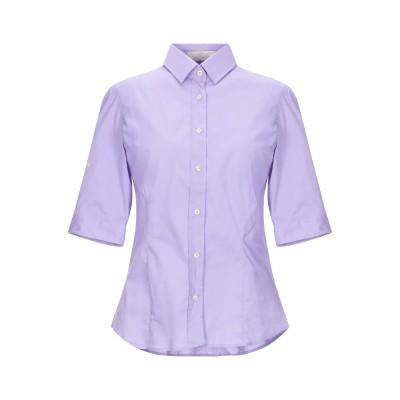 EMISPHERE シャツ ライトパープル 40 コットン 97% / ポリウレタン 3% シャツ