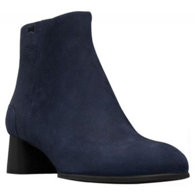 カンペール Camper レディース ブーツ ショートブーツ シューズ・靴 Katie Ankle Boot Navy Leather