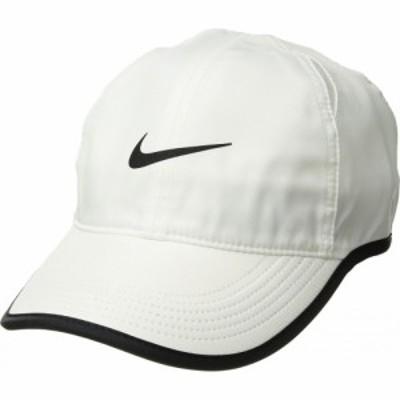 ナイキ Nike レディース キャップ 帽子 Featherlight Cap White/Black/White/Black