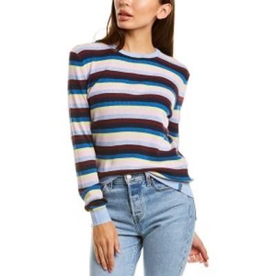 キュール レディース ニット&セーター アウター Kule The Lucia Sweater pink multicolor stripe