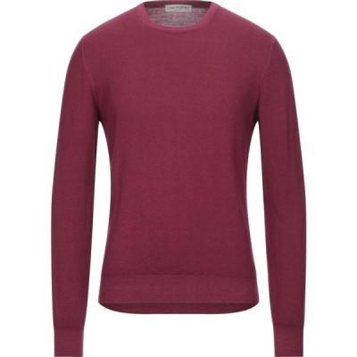 ラ フィレリア LA FILERIA メンズ ニット・セーター トップス sweater Garnet