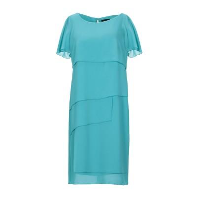 MALAICA ミニワンピース&ドレス アジュールブルー 42 ポリエステル 100% ミニワンピース&ドレス