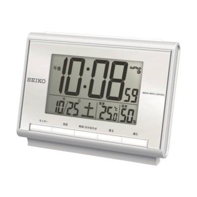 SEIKO 温湿度付き電波時計 SQ698S