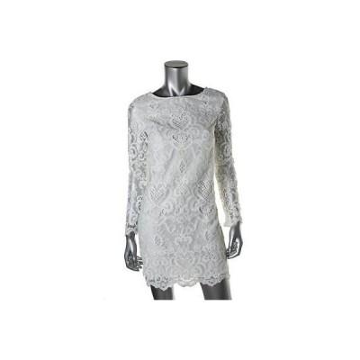 フレンチコネクション ドレス ワンピース French Connection 3143 レディース ホワイト Embroideレッド Party Cocktail ドレス 6 BHFO