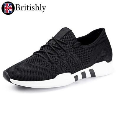 Britishly(ブリティッシュリィ) Kensal Green Low Top Sneaker 6cmアップ 英国式シークレットシューズ