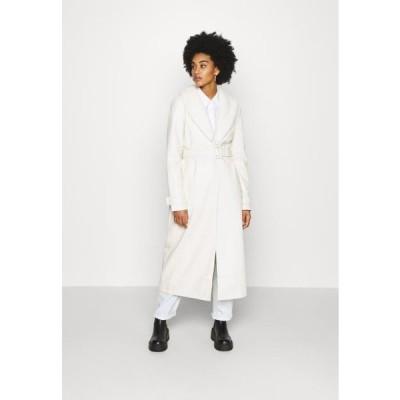 エヌエーケイディー レディース ファッション COAT - Classic coat - off white