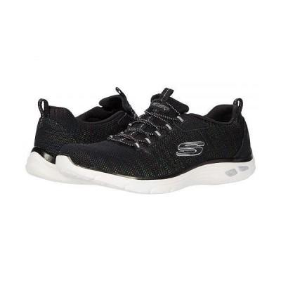 SKECHERS スケッチャーズ レディース 女性用 シューズ 靴 スニーカー 運動靴 Empire D'Lux - Dance Party - Black Multi