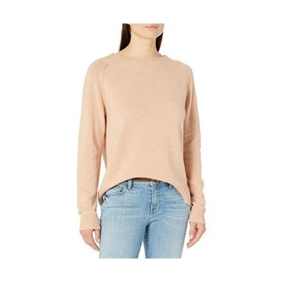 Autumn Essentials Women's Band Collar Raglan Pullover Sweater Bellini XX-La