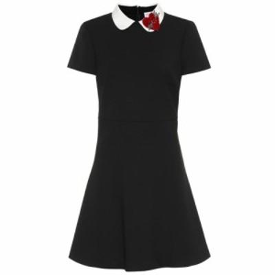 レッド ヴァレンティノ REDValentino レディース ワンピース ワンピース・ドレス Embellished minidress Nero/Latte