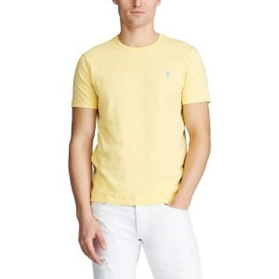 ラルフローレン メンズ Tシャツ トップス Men's Classic Fit Jersey T-Shirt Empire Yellow