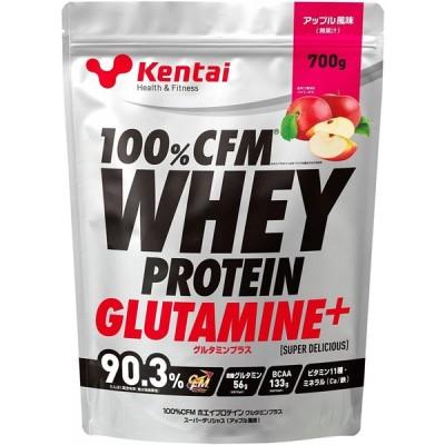 kentai 健康体力研究所 100%CFMホエイプロテイングルタミン デリシャスアップル K0223 700g