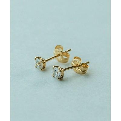 <ete bijoux(Women)/エテ ビジュ―> K18 ダイヤモンド 0.2ct ピアス「ブライト」 イエローゴールド【三越伊勢丹/公式】