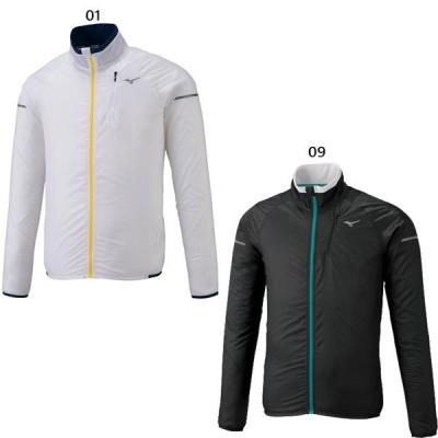 ミズノ メンズ パッカブルウィンドブレーカージャケット ジョギング マラソン ランニング ウェア トップス アウター 長袖 J2ME9510