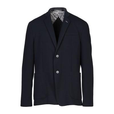 HAVANA & CO. テーラードジャケット ダークブルー 56 ポリエステル 85% / レーヨン 15% テーラードジャケット