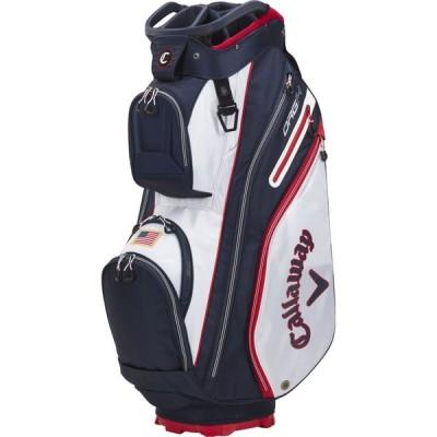 キャロウェイ Callaway ユニセックス ゴルフ カートバッグ 2021 ORG 14 Cart Bag Navy/Red/White/Flag
