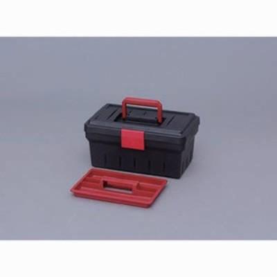 アイリスオーヤマ 4967576171021 ツールケース ダークグレー/レッド