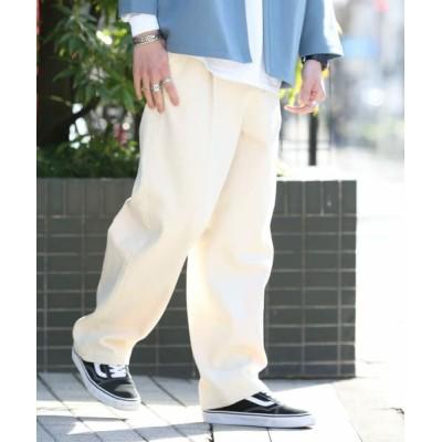 Sonny Label/サニーレーベル ワイドタックパンツ オフ M