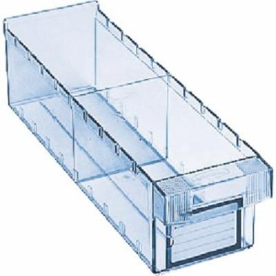 トラスコ 樹脂製引出し 内寸111X418X108 透明 (1個) 品番:ML-1