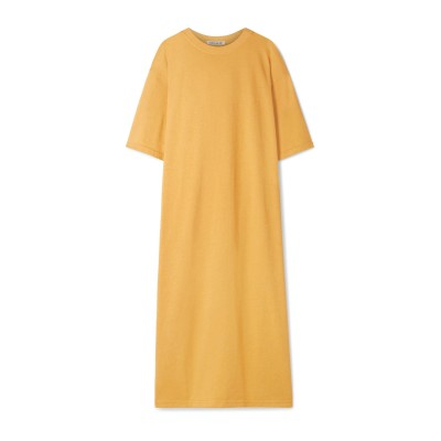 エリザベスアンドジェームス ELIZABETH AND JAMES 7分丈ワンピース・ドレス オークル XS コットン 50% / ポリエステル 5
