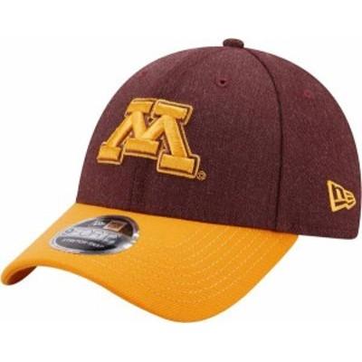 ニューエラ メンズ 帽子 アクセサリー New Era Men's Minnesota Golden Gophers Maroon League 9Forty Adjustable Hat