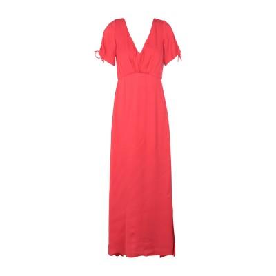 MINIMUM ロングワンピース&ドレス レッド 34 レーヨン 100% ロングワンピース&ドレス