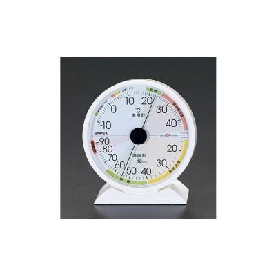 エスコ EA728EB-42A 132x121x50mm 温度・湿度計 EA728EB42A【キャンセル不可】