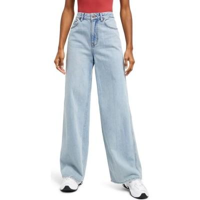 【残り1点!】【サイズ:25Wx32L】アーバンアウトフィッターズ Urban Outfitters レディース ボトムス・パンツ ジーンズ・デニム Puddle Jeans Light Vintage