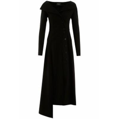 AWAKE MODE/アウェイクモード ドレス BLACK A.w.a.k.e. mode buttoned dress レディース 秋冬2020 PSS20 D01 ik
