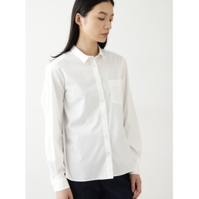 HUMAN WOMAN / ◆100/2ブロードシャツブラウス WOMEN トップス > シャツ/ブラウス