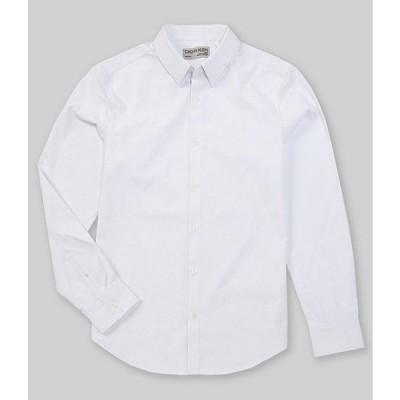 カルバンクライン メンズ シャツ トップス Move 365 Solid Performance Stretch Long-Sleeve Woven Shirt