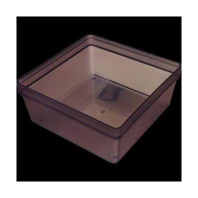 トラスコ中山(株) TRUSCO PP容器 25個入 サイズ93x93x40 PPY939340                      (1612571)