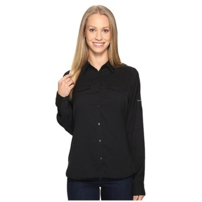 コロンビア シャツ トップス レディース Silver Ridge Lite Long Sleeve Shirt Black