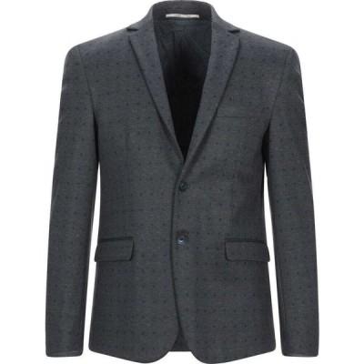 エクシビット EXIBIT メンズ スーツ・ジャケット アウター blazer Grey