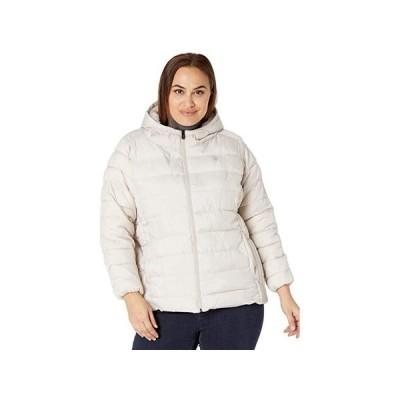 U.S. POLO ASSN. Plus Size Faux Fur Line Jacket レディース コート アウター Winter Pearl