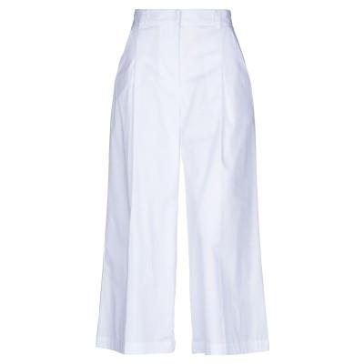 リビアナ コンティ LIVIANA CONTI パンツ ホワイト 38 コットン 68% / ナイロン 29% / ポリウレタン 3% パンツ