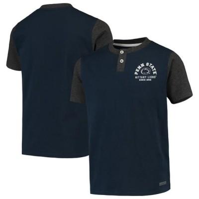 キッズ スポーツリーグ アメリカ大学スポーツ Penn State Nittany Lions Garb Youth Reece Henley T-Shirt - Navy Tシャツ