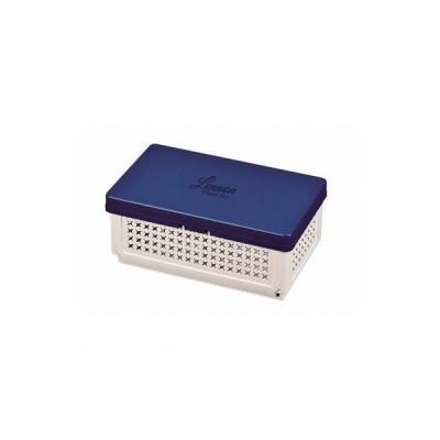 パール金属 [D-2306] レノン 折りたたみランチボックス【仕切付】ブルー D2306【キャンセル不可】ポイント5倍