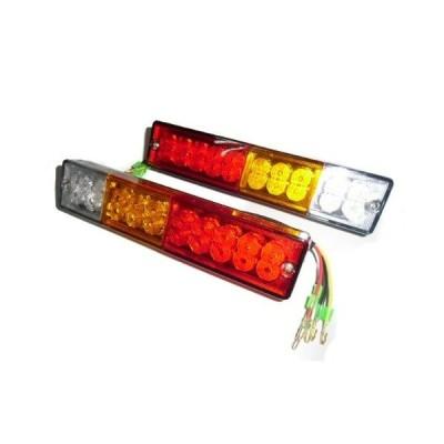 LEDテールランプ 汎用 12v/24v兼用/左右2個/トラック/トレーラー、リフト