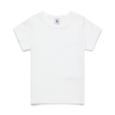 【プチバトー/PETIT BATEAU】 ポワンココット半袖Tシャツ