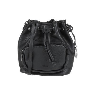 BISCOTE メッセンジャーバッグ ブラック ポリウレタン 100% メッセンジャーバッグ