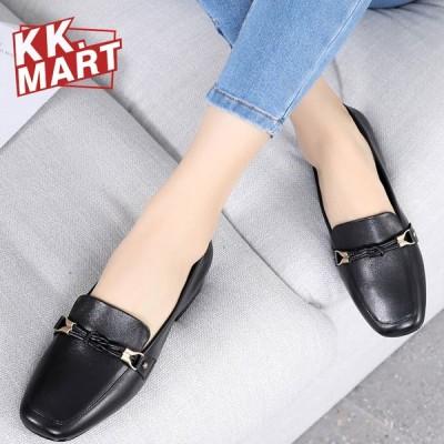 パンプス レディース革靴 女性 フラット 春夏秋冬 オールシーズン 本革 疲れない 履きやすい 革靴 シューズ 歩きやすい  婦人靴