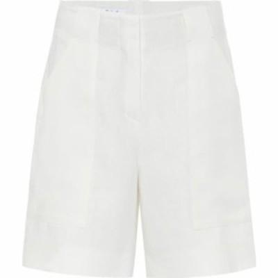 ロロピアーナ Loro Piana レディース ショートパンツ ボトムス・パンツ truman high-rise linen shorts White