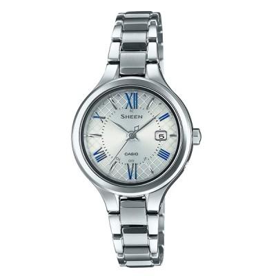 SHEEN SHW-7000TD-7AJF ソーラー電波時計 チタン カシオ シーン レディース腕時計