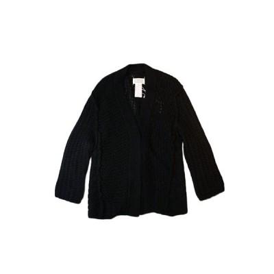 正規取扱店 Maison Margiela レディース 16-17A/W ワイドゲージニットカーディガン BLACK (メゾンマルジェラ)