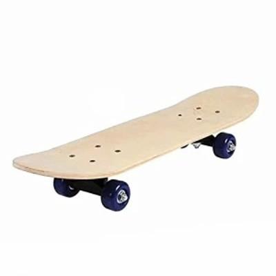 Baohao Skateboard Deck Adults Kids Skateboard Complete Board Maple Deck Double Kick Skate Board for Beginners Professionals S