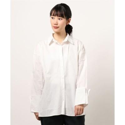シャツ ブラウス オーバーサイズシャツ