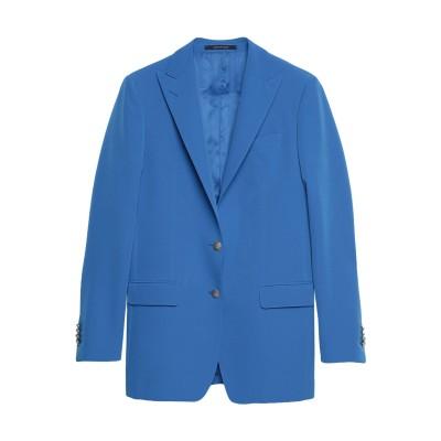TAGLIATORE 02-05 テーラードジャケット ブルー 40 ポリエステル 88% / ポリウレタン 12% テーラードジャケット