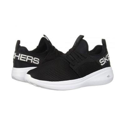 SKECHERS スケッチャーズ メンズ 男性用 シューズ 靴 スニーカー 運動靴 Go Run Fast - Valor - Black/White