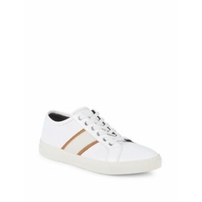 ブルーノマリ メンズ スニーカー Vico Leather Sneakers
