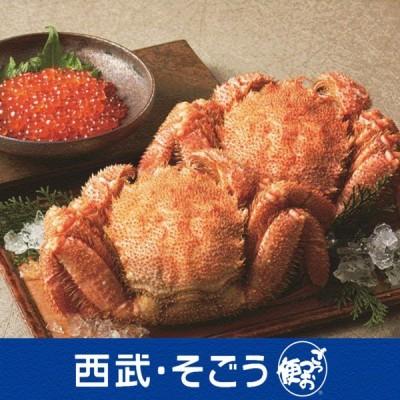 海の幸 いくら イクラ けがに ケガニ グルメ ごちそう 北海道産 ボイル 毛がに いくら醤油漬け